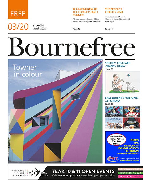 Bournefree Magazine – March 2020 Cover Thumbnail