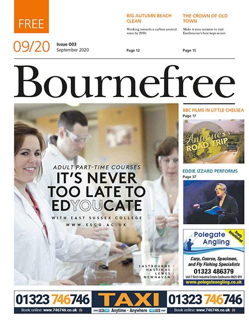 Bournefree Magazine – September 2020 Cover Thumbnail