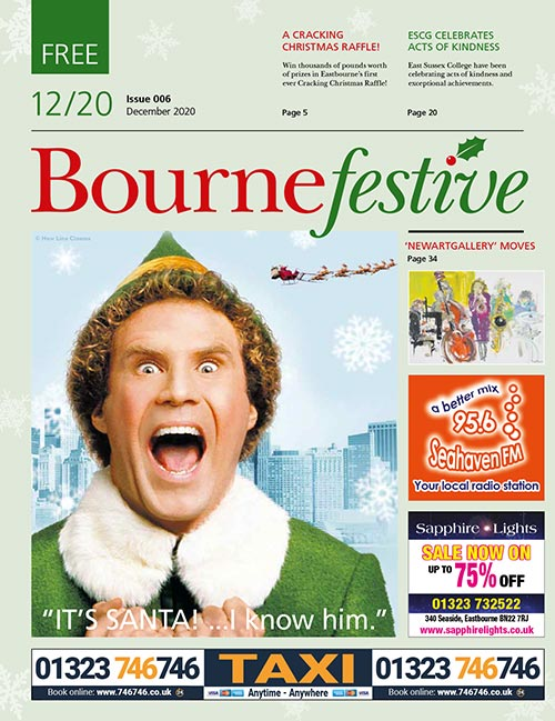 Bournefree Magazine – December 2020 Cover Thumbnail