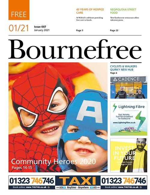 Bournefree Magazine – January 2021 Cover Thumbnail