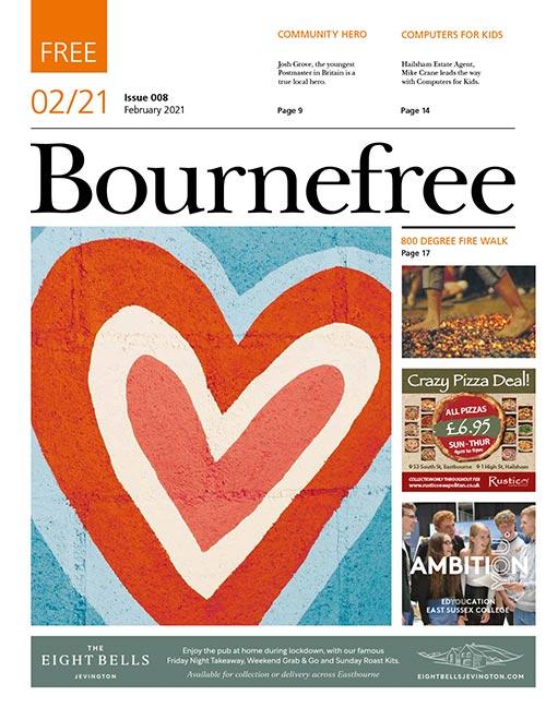 Bournefree Magazine – February 2021 Cover Thumbnail