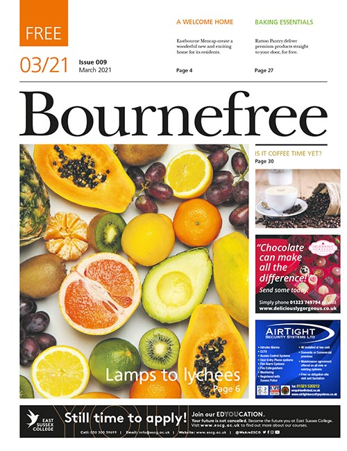 Bournefree Magazine – March 2021 Cover Thumbnail
