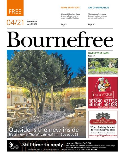 Bournefree Magazine – April 2021 Cover Thumbnail