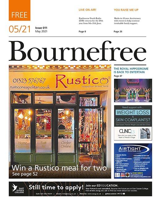 Bournefree Magazine – May 2021 Cover Thumbnail
