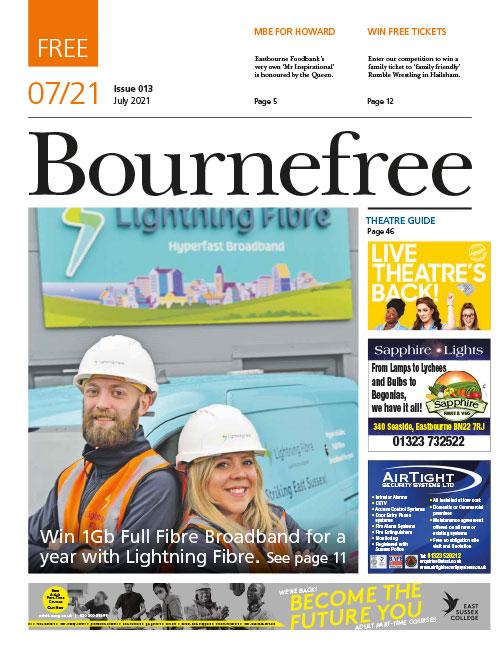 Bournefree Magazine – July 2021 Cover Thumbnail