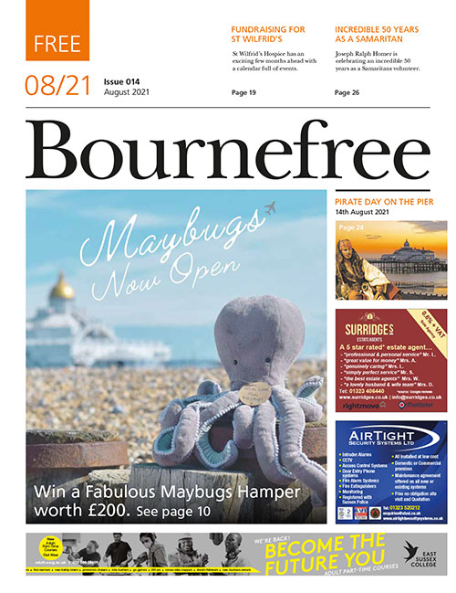 Bournefree Magazine – August 2021 Cover Thumbnail